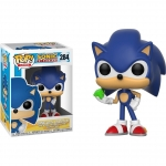 POP! Games: Sonic The Hedgehog - Sonic With Emerald #284
