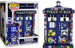 POP!: Television: Doctor Who - Tardis (Claras Memorial) #227 Supersized