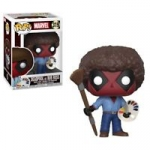 POP! Marvel: Deadpool - Deadpool as Bob Ross Bobble-Head #319