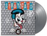 Stray Cats: 40 LP Rajoitettu painos hopealla 180g vinyylillä, sisältää mp3 latauskoodin.