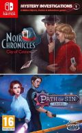 Mystery Investigations 1: Noir Chronicles + Path of Sin: Greed Nintendo Switch