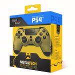 Steelplay Metaltech Wireless Controller Kultainen Peliohjain PS4