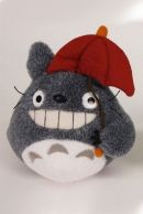 Studio Ghibli My Neighbor Totoro Red Umbrella 15cm Pehmo