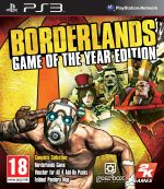 Borderlands Game of the Year Edition PS3 *käytetty*