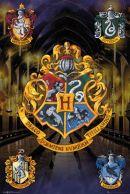 Harry Potter Crests 61 x 91cm Juliste