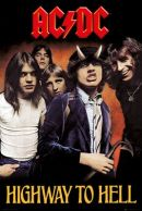 AC/DC Highway to Hell 61 x 91 cm Juliste