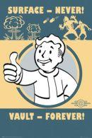 Fallout 4 Vault Forever 61 x 91cm Juliste