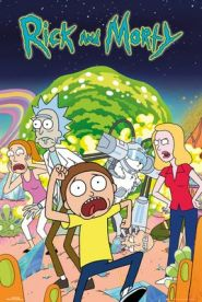 Rick and Morty Group 61 x 91 cm Juliste