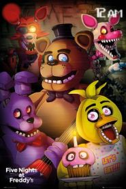 Five Nights at Freddys Group Juliste 61 x 91 cm