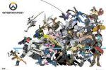 Overwatch Battle 61 x 91 cm Juliste