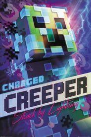 Minecraft Charged Creeper 61 x 91 cm Juliste