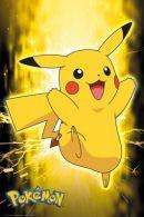 Pokemon Pikachu Neon 61 x 91cm Juliste