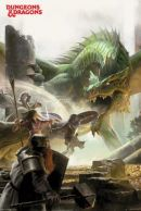 Dungeons and Dragons Adventure 61 x 91 cm Juliste