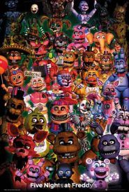 Five Nights at Freddys Ultimate Group 61 x 91 cm Juliste