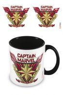 Captain Marvel Protector Coloured Inner muki