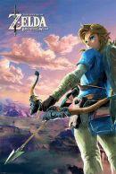 Legend of Zelda Breath of the Wild Hyrule Scene Landscape 61 x 91 cm Juliste