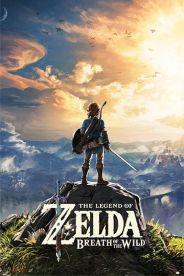 The Legend of Zelda Breath of the Wild 61 x 91cm Juliste