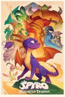 Spyro the Dragon Animated Style 61 x 91 cm Juliste