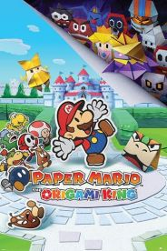 Paper Mario The Origami King 61 x 91 cm Juliste