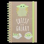 Star Wars The Mandalorian Cutest in the Galaxy (Baby Yoda) A5 Vihko