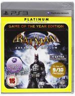 Batman: Arkham Asylum Game of the Year Edition PS3 *käytetty*