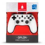 Spartan Gear langallinen PS3 ohjan valkoinen