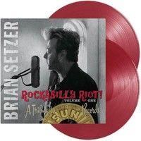 Setzer, Brian : Rockabilly Riot Volume One – Tribute To Sun Records 2-LP, punainen vinyyli
