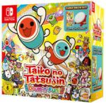 Taiko No Tatsujin: Drum n Fun! Drum Bundle -peli Nintendo Switch