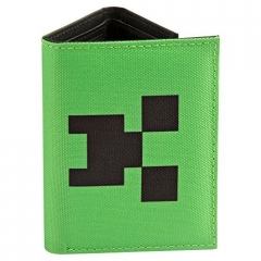 Minecraft Creeper Face lompakko