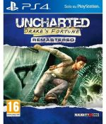 Uncharted Drakes Fortune Remastered PS4 *käytetty*