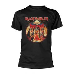 Iron Maiden Powerslave Lightning Circle T-paita