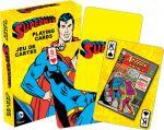 DC Comics Retro Superman Pelikortit