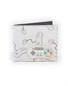 SNES Controller All Over Print Lompakko