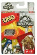 UNO Jurassic World Pelikortit