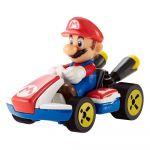 Hot Wheels Mario Kart Mario Standard Kart 8cm Figuuri autossa