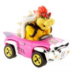 Hot Wheels Mario Kart Bowser Badwagon 8cm Figuuri autossa