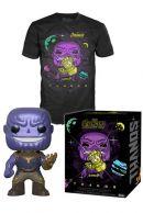 POP! & Tee: Avengers Infinity War - Thanos T-paita ja figuuri