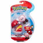 Pokemon Stufful + Pokeball Figuuri ja pallo
