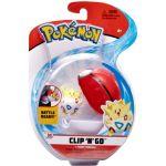 Pokemon Clip n Go Togepi and Pokeball Figuuri ja pallo