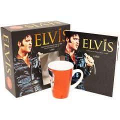 Elvis Presley Lahjapakkaus (muki ja kirja)