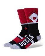 Stance Bulls Shortcut 2 NBA red Sukat