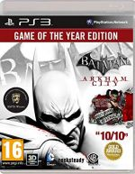 Batman Arkham City Game of the Year Edition PS3 *käytetty*