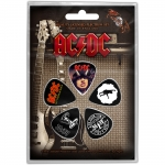 AC/DC Highway/For Those/Let There Plektrasetti 5kpl