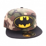 Batman Logo Army Snapback Lippis