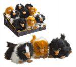 Fantastic Beasts 2 Baby Nifflers Pehmolelu 15cm, ruskea-valkoinen