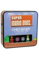 Super Mario Bros. Checkers Collectors Game Lautapeli