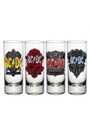 AC/DC Black Ice Shottilasit 4kpl