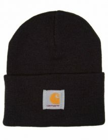 Carhartt WIP Acrylic Watch Hat Pipo Black