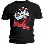 Judas Priest British Steel Hand Triangle T-paita
