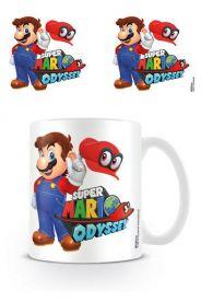 Nintendo Super Mario Odyssey Mario with Cappy muki